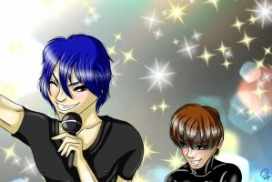 Nice Vocals, Hitoshi-san by Queen-of-Fruit