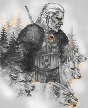 wolven storm by ShivaWalker