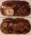 Steampunk eyeglasses case by Protosuperama