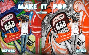 Make it Pop Action by iwantdomination