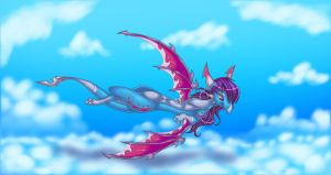 Cloudy Flight by ThisCrispyKat