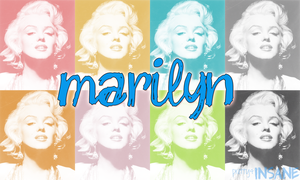 Marilyn Monroe (1) by shellyplayswithfire