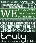 A Remarkable Life by sic-purity