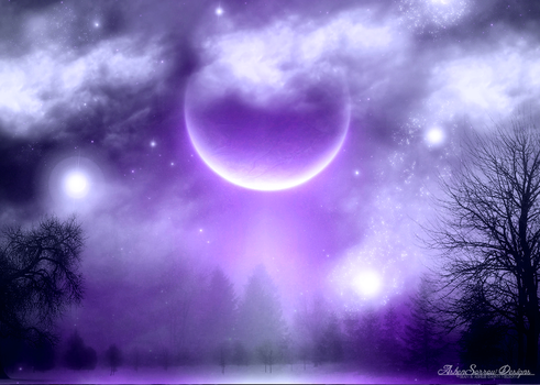 Violet Visions by AshlieNelson