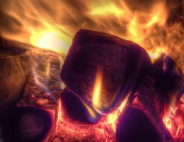 HDR fire by rade32