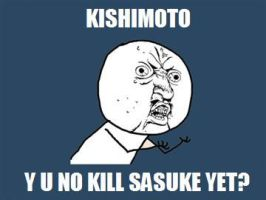 Kishimoto Y U NO by PurplePhoneixStar