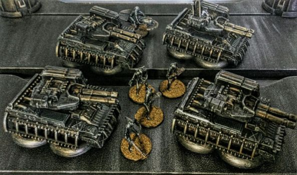 15mm Legion of the Spark - Tanks by Spielorjh