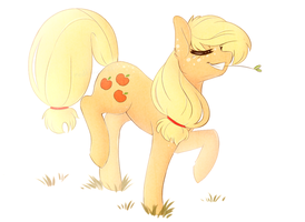 applehores trot + SPEEDPAINT by catitty