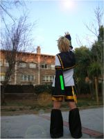 Kagamine Len - Touch the Sky by Sora-Phantomhive