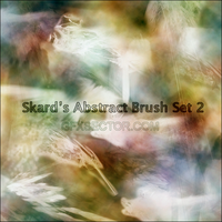 Skard's Abstract Brushes Set 2 by skard-gfx