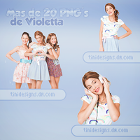 +50 fotos PNG's Violetta by TiniDesigns