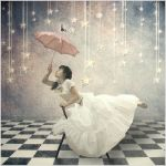 Rainy girl. by agnesina