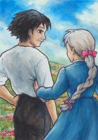 Howl and Sophie by Lanyth