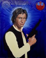 WIP - Han Solo, mid-stages by SirGunky