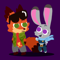 Zootopia by Cookie-and-her-foxes