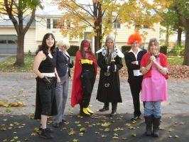 Final Fantasy 7 Group Cosplay by cyberelf2029