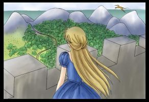 Those lonely castles by rukachan99
