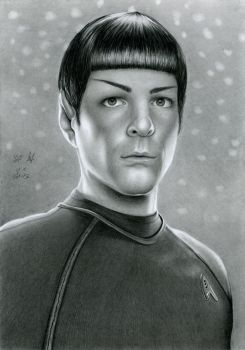 Spock From Star Trek by watracz