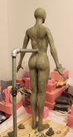 Rough Body Sculpt back view by BishonenHouse