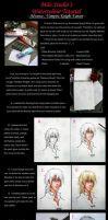 Watercolour Tutorial01: Kaname by milostudio
