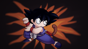 Dragon Ball - Goku by yeomaria