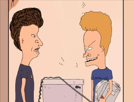 Beavis and Butthead (Finished) by otfs