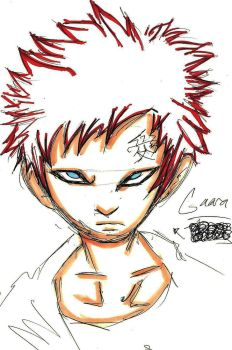 copic gaara by clones36