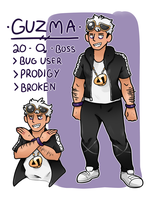 Guzma by LexisSketches