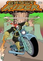 Ghost Rider #40 (Cover) by Eastforth
