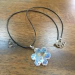 Snowflake Necklace by Al-Abbasi