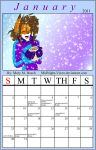 January Calender 2011 by MidNight-Vixen
