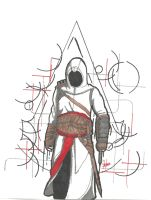 Altair Ibn La Ahad by GrimmRiddle