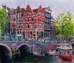 Brouwersgracht, Amsterdam by reesmeister