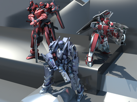 Turinu's Favorite 3D Mecha Models by TurinuZ