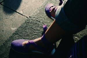 Take a walk on my shoes by cegax3m