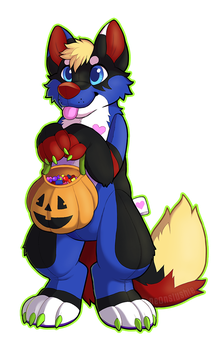 Trick-or-Treat! by NeonSlushie