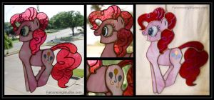 Pinkie Pie Stained Glass by Falconsong