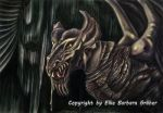 The dragon named SKELETON by MrsGraves