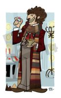 The 4th Doctor by edgar1975