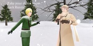 Take your damn snow back Russia!! by SouthParkFirefly