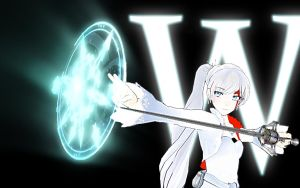 RWBY - WHITE Wallpaper by Shatterfish