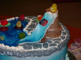 Swimming pools an Gummie bears by Ellyon