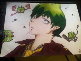Amaimon FANART - Ao no exorcist by M-K-Arts