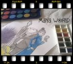 Work in Progress - Despicable Me 2 by Francesca-MayaWorld