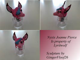 Nyxis Sculpture by GingerFloof26
