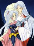 Sesshomaru and Yori by SESHOYASHAJUNIOR