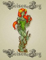 Poison Ivy In Color by pinkhavok