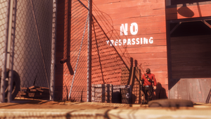 No Trespassing by Robogineer