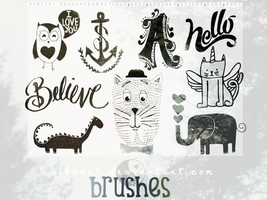 Detail Brushes by ribscut