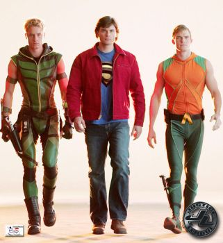 Justice League - Smallville II by TheSnowman10
